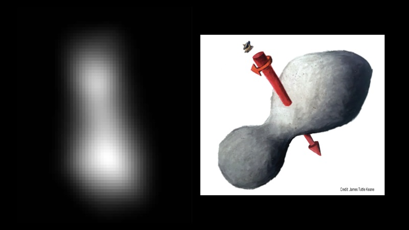 New Horizons y Ultima Thule