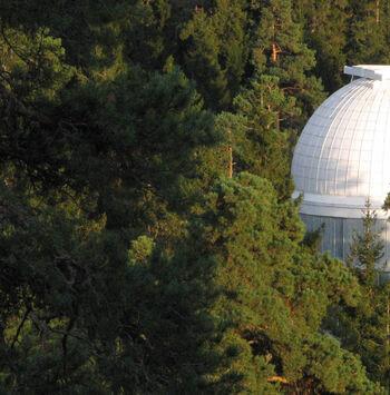 Observatorio Abastumani en la cima de Georgia