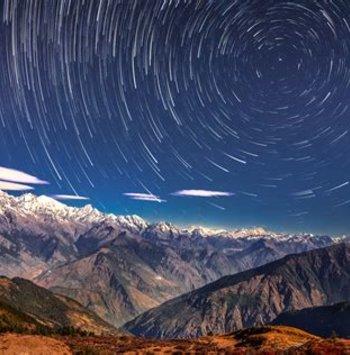 Ver las estrellas sobre el Everest