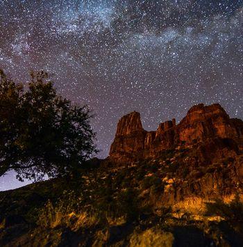 Astroturismo en Risco Caído, único Patrimonio de la Humanidad 2019 de España