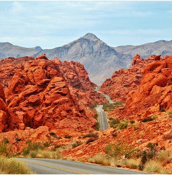 ¿Marte? No, el Valle del Fuego en Nevada