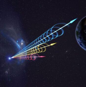 Misteriosos destellos FRB del espacio profundo se repiten cada 157 días