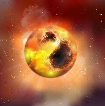 La extraña atenuación de Betelgeuse causada por manchas estelares gigantes