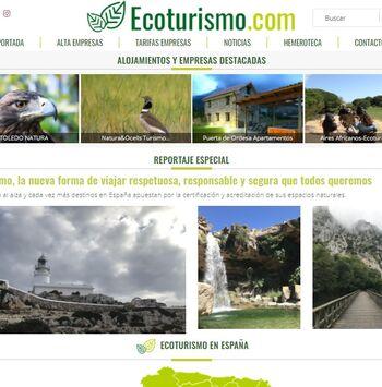 Ecoturismo.com une turismo verde, astroturismo y mucho más