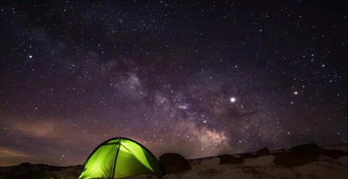 El cielo de la provincia de Ávila, sobresaliente en el Encuentro Night Light