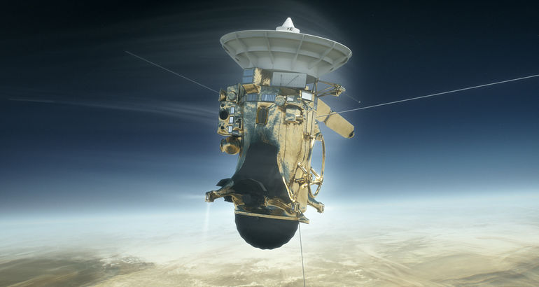 As ha sido el final de la nave Cassini