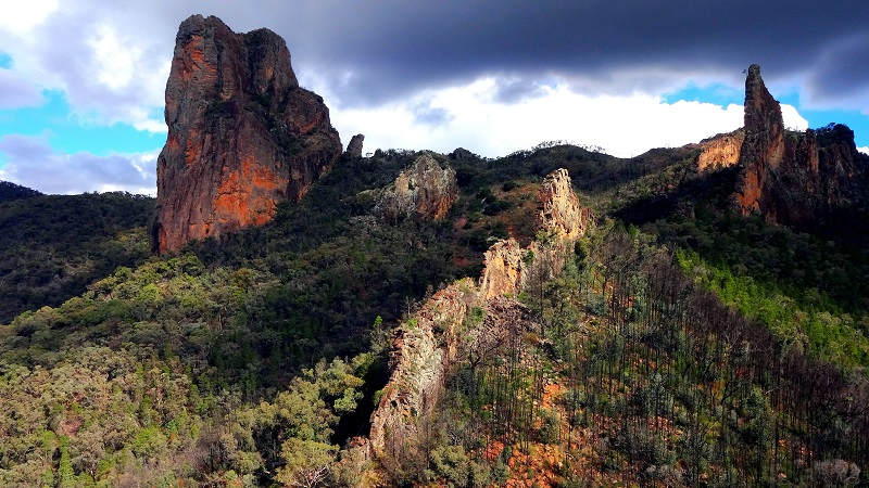 Parque Warrumbungle Australia