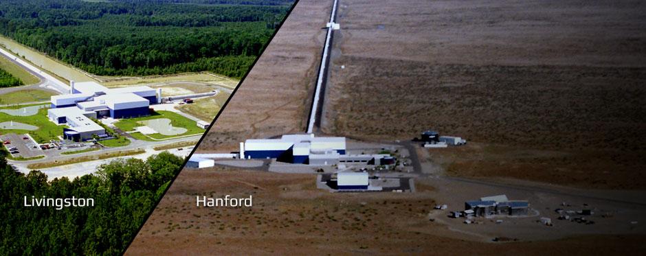 En esta imagen aparece LIGO, el gran detector actual de ondas gravitacionales.