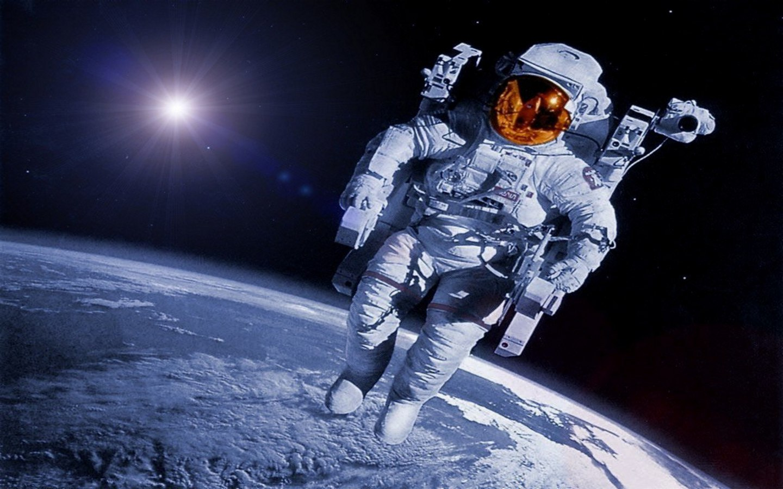 Astronauta espacio profundo